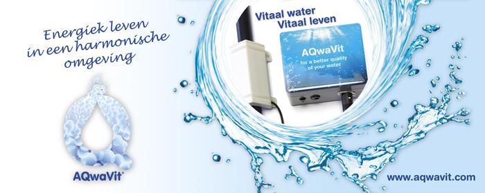 De AQwaVit® Water Vitaliser transformeert water en maakt het energierijk, zacht en lekker. Het toestel creëert ook een positief energetisch veld in huis, dat uw hele omgeving harmoniseert.